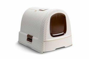 De Curver Style kattenbak heeft een uitschuifbare gritbak waardoor het verschonen van de kattenbak nog eenvoudiger is. Het toilet heeft een schepje voor de uitwerpselen en een opbergruimte in de bovenzijde voor dit schepje.