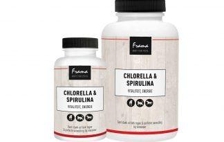De Frama Chlorella & Spirulina ondersteunen het immuunsysteem en hebben reinigende eigenschappen. Ze dragen bij aan een beter energieniveau en ondersteunen de vitaliteit.