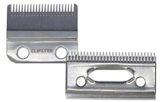 Het Kerbl Clipster accuscheerapparaat TaproX beschikt over uitstekende scheereigenschappen dankzij de roestvrijstalen scheerkop.