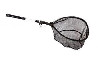 De Lion Onyx Dropshotnet & Handle is een compact net en is ideaal voor de struinende visser of voor streetfishing. Het schepnet is gemakkelijk mee te nemen, omdat hij compact is met een afmeting van 51 cm.