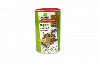 Luxan Eco-Mierendood is een makkelijk te gebruiken bestrijdingsmiddel tegen mieren buitenshuis. Het middel werkt snel en de poeder kan eenvoudig worden gestrooid.