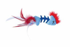 De Petstages Feather Fish Bone stimuleert het natuurlijke jachtinstinct van uw kat. Daarnaast is dit leuke speeltje erg licht en daardoor extra leuk om mee te spelen.