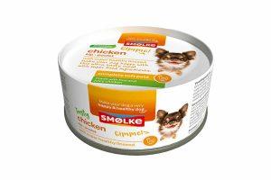 De Smolke Soft Pate kip is een verrukkelijke maaltijd. Het heeft een zachte bite en verse superfood ingrediënten. Het is de daarom perfecte verwennerij voor uw hond.