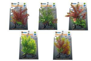 De Superfish Deco Plants L zijn gemaakt van kunststof. Met deze planten kunt u eenvoudig uw aquarium inrichten. Tevens zien de planten er realistisch uit en zijn ze 100% veilig voor uw vissen en het ecosysteem.