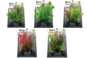 De Superfish Deco Plants S zijn gemaakt van kunststof. Met deze planten kunt u eenvoudig uw aquarium inrichten. Tevens zien de planten er realistisch uit en zijn ze 100% veilig voor uw vissen en het ecosysteem.