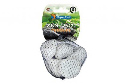 De Superfish Zen Natural Pebbles zijn een leuke decoratie voor je aquarium. Omdat deze mix tevens in verschillende kleuren verkrijgbaar is past het daardoor vaak in elk aquarium. Verkrijgbaar in verschillende varianten.