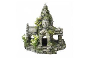 De Aqua Della Angkor Wat is een hoogwaardig en realistisch decoratie voor in uw aquarium of terrarium. Gemaakt van polyesterhars, gifvrij en pH-neutraal, zodat het geen invloed heeft op het biologisch evenwicht in uw dierenverblijf.