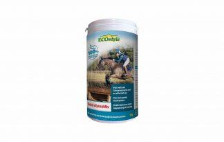 ECOstyle ElektrolytenMix is een uitgebalanceerde mix voor het aanvullen van belangrijke lichaamszouten. Door zweten, via de urine en via de ontlasting verliezen paarden dagelijks elektrolyten.