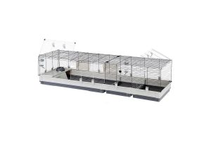 De Ferplast knaagdierkooi Krolik 200 is een serie konijnenkooien ontworpen zodat zowel de tralies als de basis compleet uit elkaar gehaald kunnen worden. De kooien zijn zeer ruimte-besparend wanneer ingeklapt, echter zijn zij zeer ruim wanneer volledig opgebouwd.