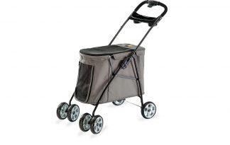 De Ferplast Globetrotter Large is een wandelwagen waarmee u klaar bent om er op uit te gaan met uw hond. Ideaal voor puppy's, oudere en honden met mobiliteitsproblemen.