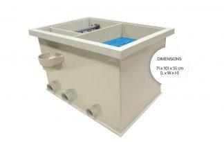 De Filtreau Combi-2 is een onderhoudsarm filtersysteem dat zorgt voor gezond en helder water. U hoeft hierbij weinig onderhoud te plegen.