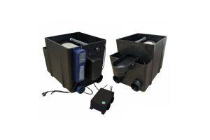 De Filtreau trommelfilter is een onderhoudsarm voorfiltersysteem. Dit systeem zorgt, met een gering onderhoud, voor een gezonde, heldere vijver.