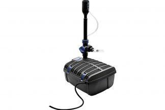 De Oase Filterpomp met UVC zuiveringsapparaat is een multifunctionele en compacte oplossing voor uw vijver. Zeer geschikt voor de kleinere vijvers of decoratieve bassins zoals wijnvaten.