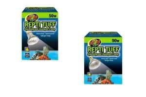 De ZooMed Repti Tuff is een spatbestendige halogeenlamp. Hij is geschikt voor alle aquariuminrichtingen voor waterschildpadden.