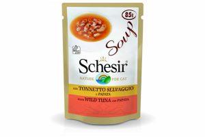 Schesir cat soup tonijn met papaja