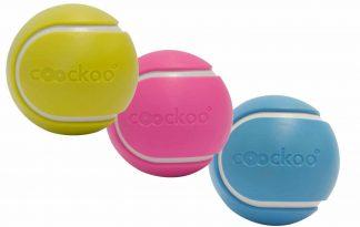 De Coockoo Magic Ball is een speeltje voor zowel katten als honden. Het is een door batterijen aangedreven speelgoed.