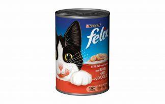 Felix paté blikvoeding is met kwalitatief hoogwaardige ingrediënten gemaakt. Hierdoor is het een onweerstaanbare maaltijd voor je kat.