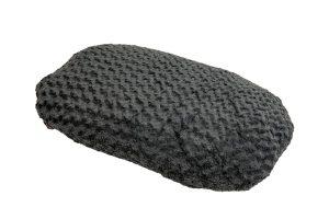 Het Jack & Vanilla Coal ovaalkussen is een comfortabele slaapplek voor uw hond. Daarbij is het hondenbed gemaakt van zeer zacht materiaal, zodat uw hond heerlijk kan liggen.
