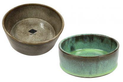 De D&D Home Jasper eetkom is gemaakt van keramiek en afgewerkt met een eigentijds glazuur. Met een wanddikte van ongeveer 8 mm kan deze schaal wel tegen een stootje.