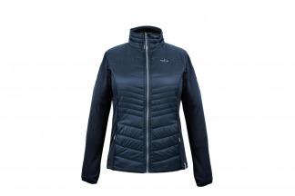 De Kjelvik Liv outdoorjas is gemaakt van ademend en winddicht materiaal. De jas beschikt over steekzakken met ritssluiting en een opstaande kraag.