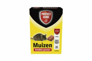 Protect Home Broditec G-29 granen bestaan uit twee kant en klare sachets van 25 gram. Deze sachets bevatten de zeer krachtige en werkzame stof brodifacoum.
