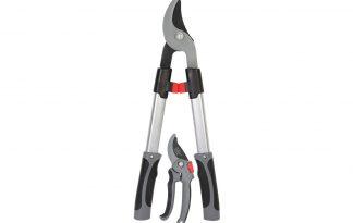 De Talen Tools snoeiset bestaat uit een takken- en snoeischaar. De tweedelige set is geschikt voor het snoeien van bomen, planten etc.