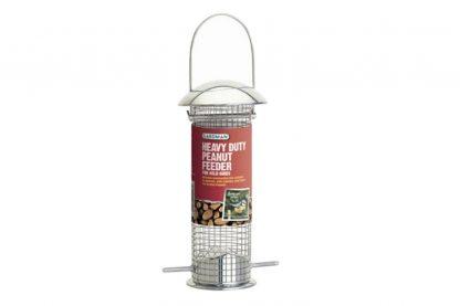 Deze Gardman Heavy Duty Metalen Pinda Feeder is ideaal voor de vogeltjes om op te hangen in uw tuin of aan voederstations. Deze voedersilo heeft een verwijderbare top en bodem, hierdoor is hij makkelijk aan te vullen en schoon te maken. Deze Heavy Duty Feeder is gemaakt van duurzaam gepolijst gegoten aluminium.