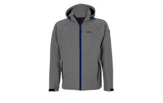 De Kjelvik Geert is een softshell jas met een afneembare capuchon. Hij is gemaakt van een elastische stof die ademend en waterafstotend is.