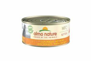 Almo Nature HFC kittenvoer - kipis een heerlijke natvoeding volgens het bekende en traditionele receptuur van Almo Nature.