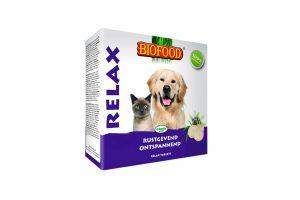 Biofood hond&kat relax tabletten is rijk aan vitamine B, D, E en Biergist. Dit zorgt ervoor dat uw hond of kat extra ondersteunt wordt bij onder andere het immuunsysteem, gezonde botten en gewrichten en de stofwisseling.