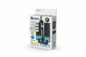De SuperFish Bio Air Filter is een sponsfilter met kamers voor biologische filtermedia, dit is ideaal voor kleine aquaria en kweekbakken. Er is een geïntegreerde ruimte voor biologische filtermedia voor geavanceerde filterprestaties.