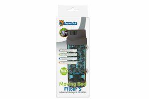 De SuperFish Moving Bed Filter is een door lucht aangedreven bewegend filter bed. De filter heeft het hoogste rendement aan aerobe bacteriën en zorgt daarmee voor een schoon en gezond aquariumwater!