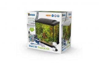 De Superfish Start 50 Tropical Kit Aquarium is een starterkit met energiezuinige LED-verlichting. Ook heeft het aquarium een binnenfilter en handige accessoires om de aquariumhobby te starten. Het aquariumdeksel heeft een klepje om het voeren van de vissen gemakkelijk te maken. Het heldere witte licht is perfect voor plantengroei.