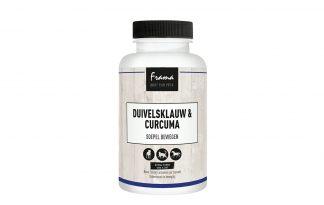 Frama Duivelsklauw & Curcuma bevat een krachtige samenstelling, die zowel op de korte als lange termijn zeer positieve effecten geeft. Biedt ondersteuning aan het volledige bewegingsapparaat van honden, katten en paarden. Daarnaast zorgt het ook voor een sterk immuunsysteem.