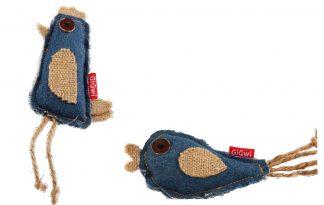 GiGwi Catch Scratch Jeans is een vermakelijk speeltje voor uw kat. Voorzien van een sterke jeans stof, leuke touwtjes en catnip. Circa 9 cm.