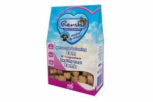 Renske gezonde beloning is een smakelijke, glutenvrije beloning voor de hond. Door de hoogwaardige producten zijn de snoepjes zeer geschikt als verantwoord tussendoortje. Daarnaast zijn ze door het kleine formaat ook goed te gebruiken tijdens trainingen.