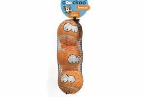De Coockoo Breezy Large tennisballen hebben een grappige uitstraling, doordat ze een gezicht met fluffy kapsel hebben. Interactieve spelletjes zorgen ervoor dat de band tussen baas en hond versterkt wordt, een apporteerspelletje is hier een perfect voorbeeld van!