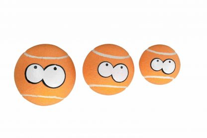 De Coockoo Breezy Extreme tennisballen hebben een grappige uitstraling, doordat ze zijn voorzien van ogen. Interactieve spelletjes zorgen ervoor dat de band tussen baas en hond versterkt wordt, een apporteerspelletje is hier een perfect voorbeeld van!