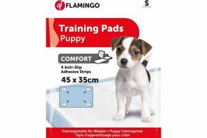 De Puppy Training Pads zijn ideaal om te gebruiken voor puppytraining en voor in transportboxen. Het zorgt ervoor dat het tapijt of de vloer mooi droog blijft. De pads zijn sneldrogend en voelen zacht aan. Ze bestaan uit 5 lagen, gevuld met water en absorberende gel.