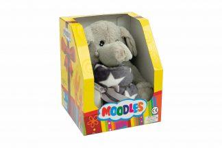 De Petlando Knuffelset - Moodles Olifant Ella bestaat uit een heerlijke fleecedeken samen met een stevige olifant knuffel. Zeer leuk om iemand cadeau te geven wanneer bekende een nieuwe pup of kitten hebben.