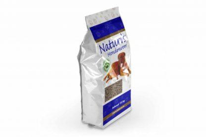 Naturis persbrok pup XL is te geven aan pups tot ongeveer 6 maanden. Deze voeding is geschikt voor honden met een volwassen gewicht van meer dan 30 kg. Een glutenvrije brok.