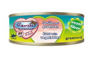 Renske kat verse tonijn met groente vezel is een smakelijke aanvullende natvoeding voor katten. Door het hoge gehalte tonijn, is dit een zeer licht verteerbaar en smakelijke maaltijd. Renske's ingrediënten zijn 100% natuurlijk en afkomstig van bronnen geschikt voor menselijke consumptie.