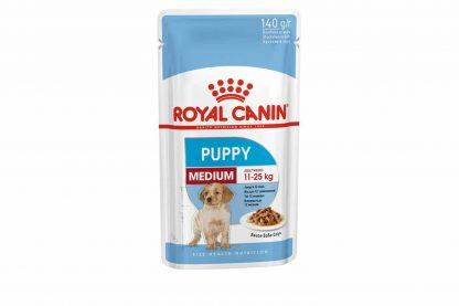 Medium Puppy Wet is natvoeding voor puppy's van middelgrote honden tot 12 maanden met een volwassen gewicht van 10 to 25 kilo. De natvoeding ondersteunt de natuurlijke afweer van je pup dankzij een complex aan antioxidanten, waaronder vitamine E.