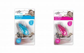 De AFP Modern Cat Laser Mouse is een interactief speeltje, waar u samen met uw kat en, of kitten urenlang speelplezier aan beleeft.