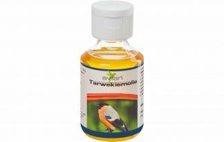 Avian Tarwekiemolie komt uit de eerste koude persing en is rijk aan vitamine E. Het bevordert de doorbloeding en ontwikkeling van een goede huid en bevedering.
