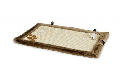 Beeztees Wave katten krabmat is voorzien van een groot sisal oppervlak waar je kat heerlijk aan kan krabben om in de natuurlijke krab behoefte te voorzien.