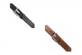 Brams Paris Lederen broekriem Ranger is gemaakt van 100% echt leder met een grote gesp. De riem type Ranger is verkrijgbaar in verschillende maten en kleuren.