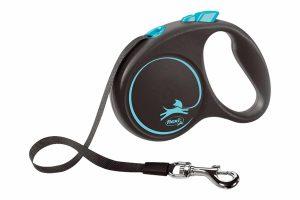 Flexi rollijn Black Design band is een variabele looplijn, waarmee je de hond gecontroleerde vrijheid kunt bieden. Je bepaalt zelf tot welke lengte je de lijn uit laat rollen.