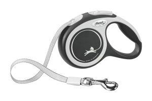 Flexi rollijn New Comfort band is een variabele looplijn, waarmee je de hond gecontroleerde vrijheid kunt bieden.