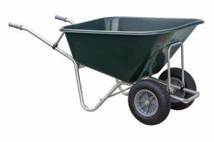De Volume kruiwagen 250L 2-wiel is een duurzame kruiwagen van stevig HDPE kunststof met een ruime inhoud van maar liefst 250 liter.